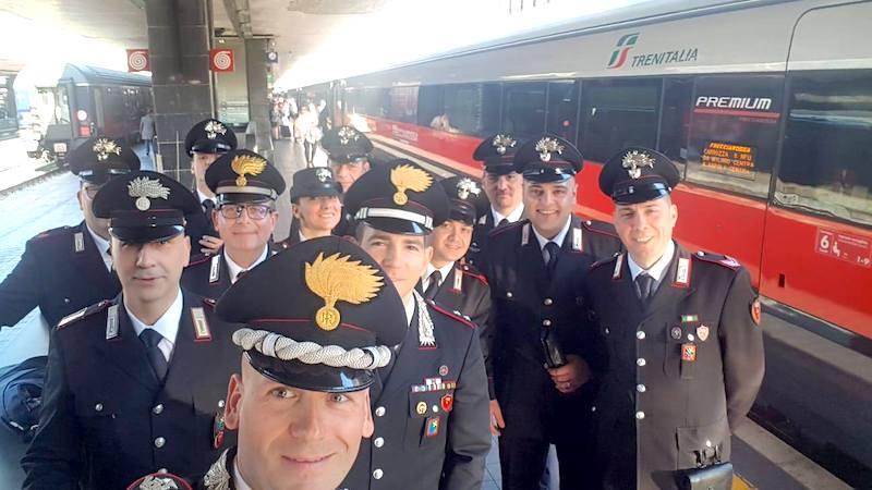 Carabinieri a Roma