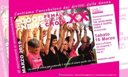 Questa sera The Good Female Gospel Choir a Corsico