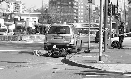 Incidente in moto: morto centauro di 23 anni FOTO