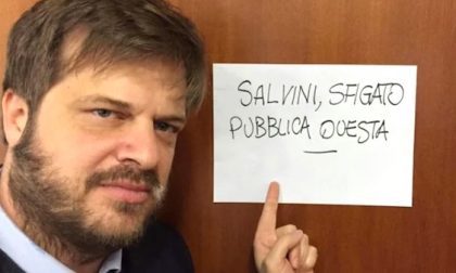 """Majorino sfida Salvini: """"Sfigato, pubblica questa"""""""
