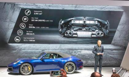 A Ginevra la nuova Porsche 911 Cabriolet