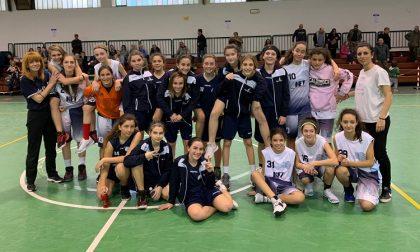 BASKET Femminile U13, Corsico vs HereyouCanBianco