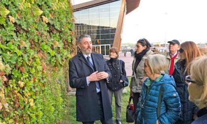 Il giardino verticale di Rozzano tra le meraviglie di Green Cities