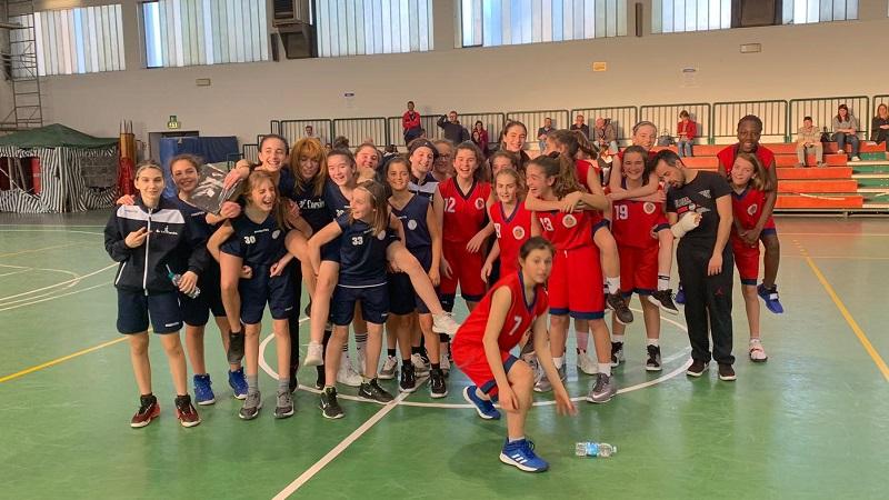 basket femminile under 13