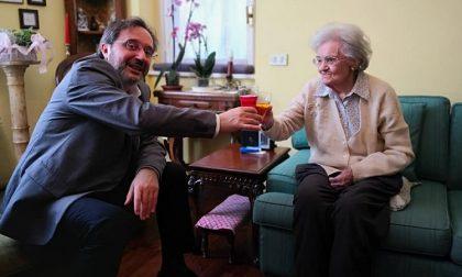 Auguri a nonna Maria che compie 100 anni