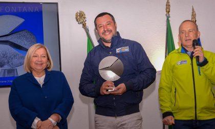Premio Walter Fontana 2019 al vicepremier Matteo Salvini