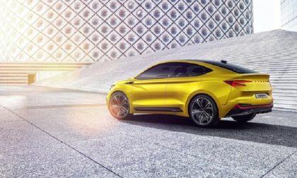 Salone di Ginevra 2019 | SKODA Vision iV Concept un SUV elettrico con design da coupé
