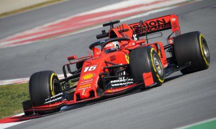 Test F1 di Barcellona, Vettel e la Ferrari volano FOTO