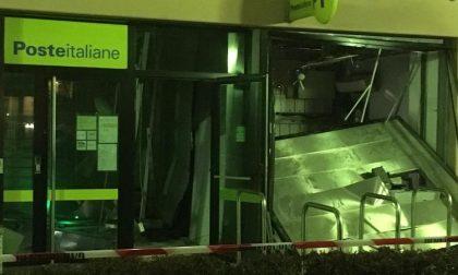 Esplosione alle Poste: ladri fanno saltare il bancomat nella notte