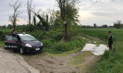 Scarica 5 quintali di rifiuti nelle campagne del Parco Agricolo: beccato dai carabinieri