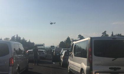 Autostrada A4 chiusa per 40 chilometri tra Seriate e Brescia causa incidente
