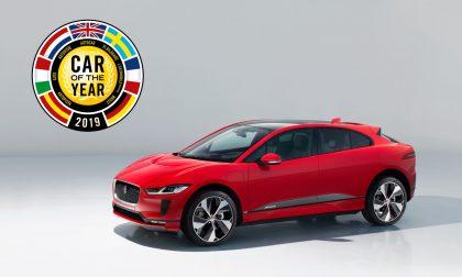 """Jaguar I-PACE eletta """"Auto dell'anno"""""""