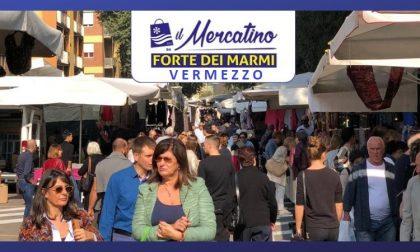 Domenica 7 Aprile: il Mercatino da Forte dei Marmi per la prima volta a Vermezzo