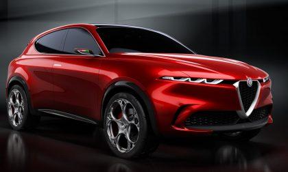 Nuova Alfa Romeo Tonale, concept car del suv compatto ibrido plug-in