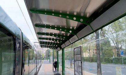Occhi elettronici contro vandali: installate le telecamere alle pensiline del tram 15 FOTO