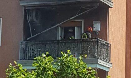 Incendio in appartamento di via Bologna: nessun ferito