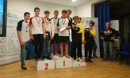 """Nel fine settimana Verona ha ospitato i campionati italiani di discesa per la categoria """"ragazzi"""""""