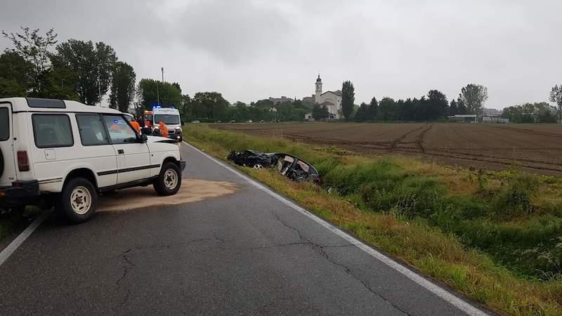 Incidente strada Mirasole