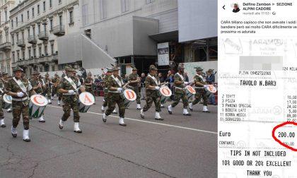 Adunata Alpini Milano: dal Cadore protesta social per lo scontrino da 200 euro