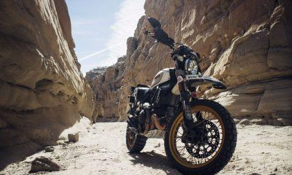 Il giro del mondo in moto con uno Scrambler Ducati Desert Sled