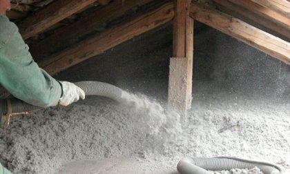 Insufflaggio di cellulosa, il caldo resta in casa