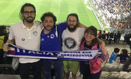 Football No Limits: una delegazione fa visita alla Nazionale di calcio italiana
