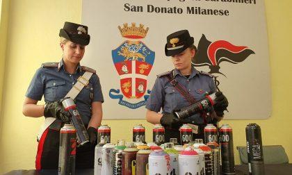 """Operazione anti vandalismo: arrestato il writer """"Noone"""""""