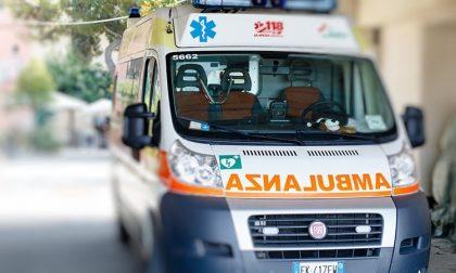 Incidente tra moto a Cesano: due feriti e traffico intenso