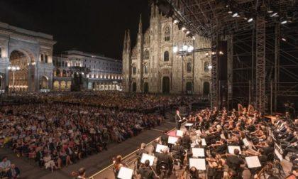 Concerto per Milano: la Filarmonica della Scala e Riccardo Chailly in Piazza Duomo
