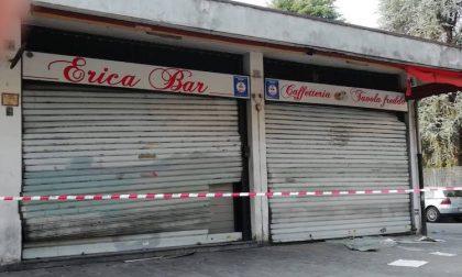 Incendio doloso distrugge il bar Erica al quartiere Lavagna