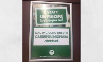 """Il Carrefour Express chiude, dipendenti preoccupati: """"Nessuna ricollocazione"""""""