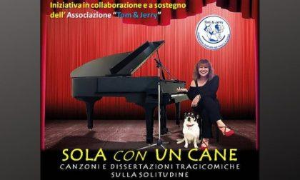 """""""Sola con un cane"""": al Bonaventura uno show per il cangattile"""