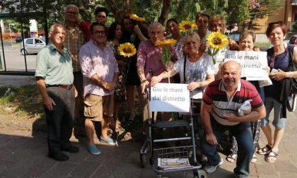 Protesta al Lavagna contro lo spostamento di Ats