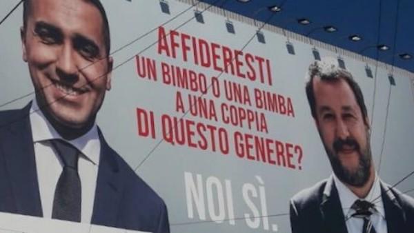 Di Maio e Salvini ActionAid