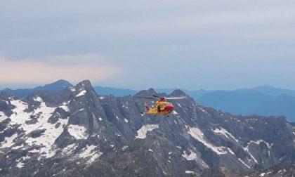 Tre alpinisti rischiano l'assideramento in alta quota
