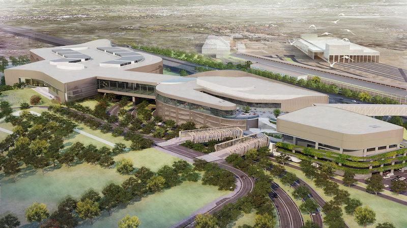 progetto grande centro commerciale