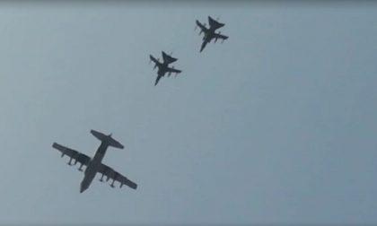 Aerei militari sul cielo di Milano, la spiegazione dell'Aeronautica
