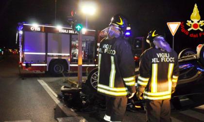 Grave incidente stradale questa notte alle porte di Milano - FOTO