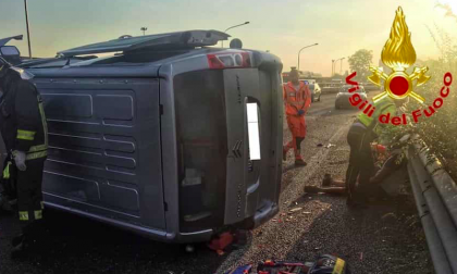 Incidente sulla Sp14, un morto e sei persone ferite