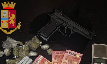 Un 19enne arrestato per detenzione e spaccio di droga