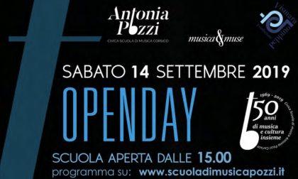 """Open day alla Scuola di Musica """"Antonia Pozzi"""""""