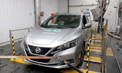 Cinque stelle Green NCAP per Nissan Leaf