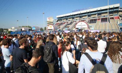 Test professioni sanitarie: traffico paralizzato al Forum di Assago