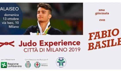 Il campione Basile alla Judo Experience Città di Milano