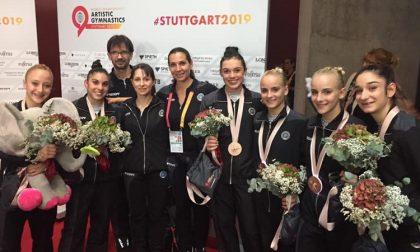 Italia bronzo ai Mondiali di ginnastica artistica: tra le Fate anche una rozzanese FOTO