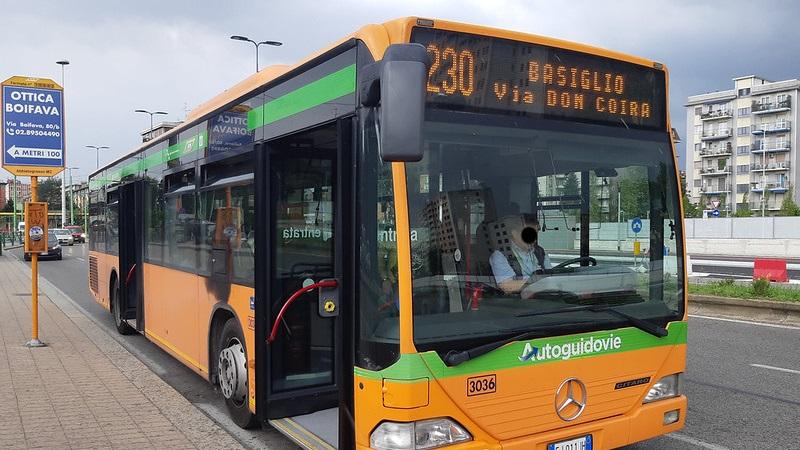 Caos autobus 230