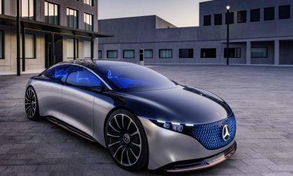 Mercedes-Benz Vision EQS, il futuro della casa tedesca