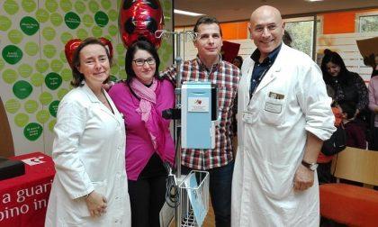 Un macchinario per i bambini malati, donato in ricordo della piccola Carola