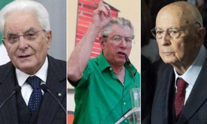 """Mattarella concede la grazia a Bossi, aveva chiamato """"terrone"""" Napolitano"""