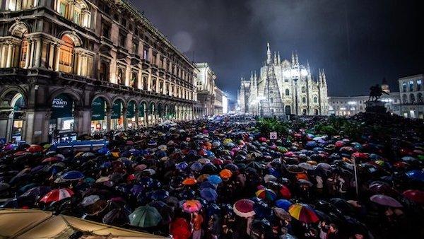 Sardine piazza Duomo